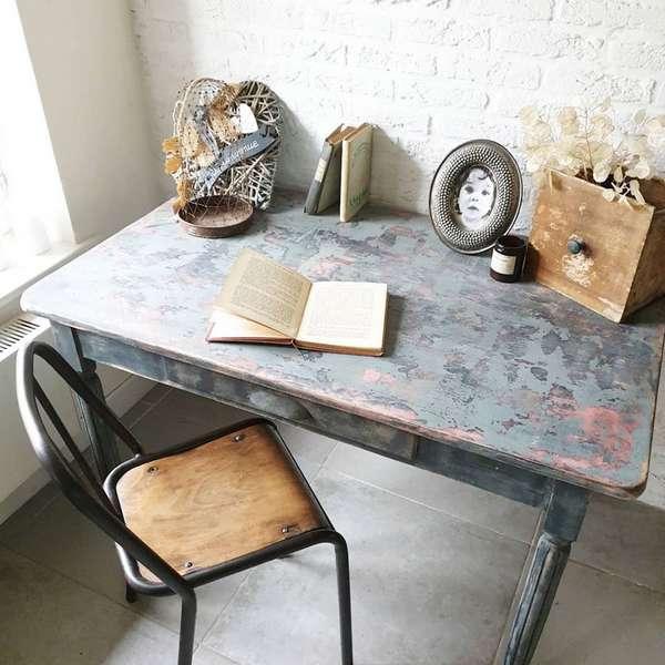 bureau ancien relooké