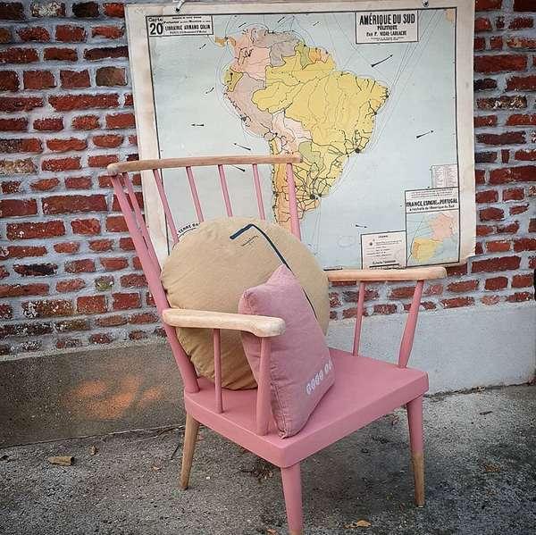 fauteuil baumann relooké